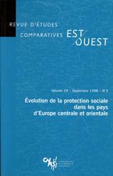 Revue d'études comparatives EST-OVEST Volume 29