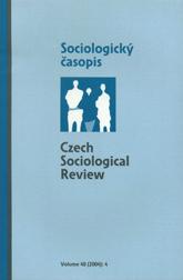 Model vývoje české společnosti a její modernizace